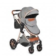 Moni Baby Stroller Alma, dark grey