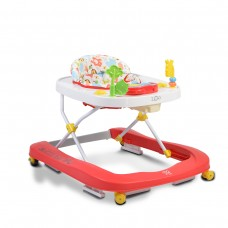 Moni Baby Walker Zoo red