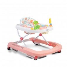 Moni Baby Walker Zoo pink