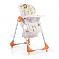 Moni Avocado High Chair Orange