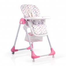 Moni Avocado High Chair Pink