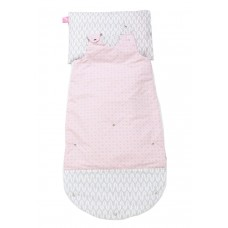 Motherhood 3in1 Sleeping Bag Pink Trees