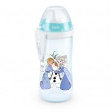Nuk Kiddy Cup 300мл с твърд накрайник, 12+ месеца Frozen момиче
