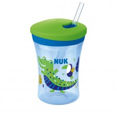 Nuk Straw Cup Evolution Action Cup, Chameleon