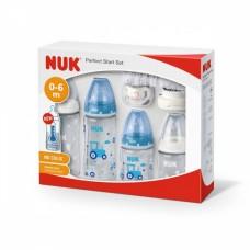 NUK Perfect Start Set First Choice Temperature control, blue