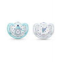 NUK Soother Winter 6-18 m 2 pcs