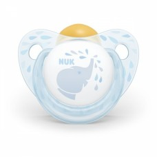 Nuk  Blue Latex Soother Size 1 (0-6m) + box