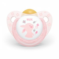 Nuk Rose Latex Soother Size 2 (6-18m) + box