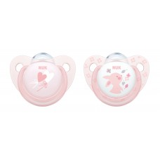 NUK Soother Rose 0-6 m 2 pc