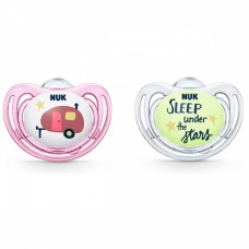 NUK Hello Adventure Soother 6-18 m