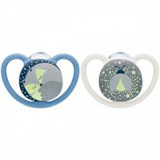 NUK Space Night Soother 18-36 m