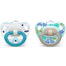 NUK  Baby pacifier Blue 6-18 m 2 pc
