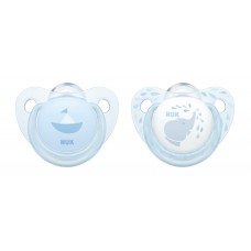 NUK Soother Blue 6-18 m 2 pcs