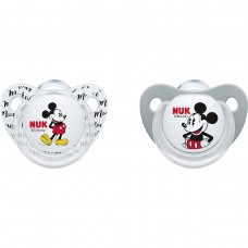 NUK Mickey Soother 6-18 m 2 pcs