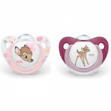 NUK Trendline Bambi Soother 0-6 m