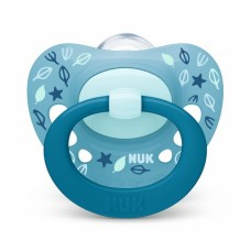 NUK Signature Silicone Soother 6-18 m with sterilizing box