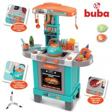 Buba Kids Kitchen Set with kettle blue