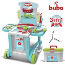 Buba Little Doctors kit in suitcase