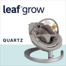 Nuna Шезлонг Leaf  Grow с играчки, Quartz