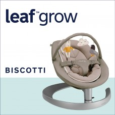 Nuna Шезлонг Leaf  Grow с играчки, Biscotti