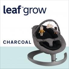 Nuna Шезлонг Leaf  Grow с играчки, Charcoal