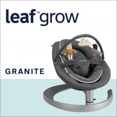 Nuna Шезлонг Leaf  Grow с играчки, Granite