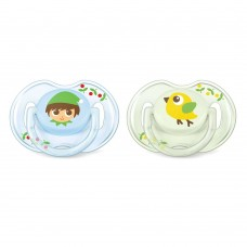 Philips Avent Orthodontic pacifiers 0-6 Months, Elves