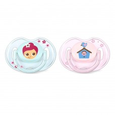 Philips Avent Orthodontic pacifiers 0-6 Months, Fairies