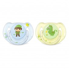 PHILIPS-AVENT Orthodontic pacifiers 6-18m Elves