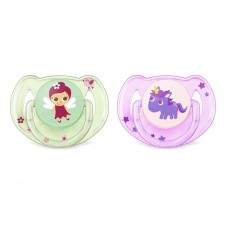 PHILIPS-AVENT Orthodontic pacifiers 6-18m Fairies