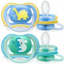 Philips Avent Ultra Air pacifier 18+m, Boy Dino