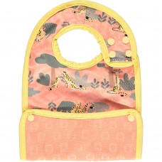 Close Parent Reversible Bib 6m+ Cheetah