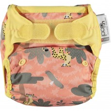 Close Parent Single Printed Nappy Cheetah