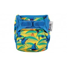 Close Parent Single Printed Nappy Parrot