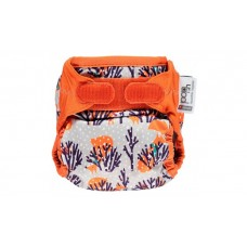 Close Parent Single Printed Nappy Foxy