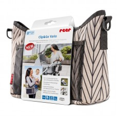 Reer Clip&Go Vario Stroller organizer with changing pad