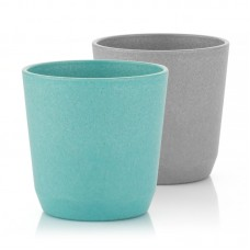 Reer Growing cup 2 pieces set, blue and grey