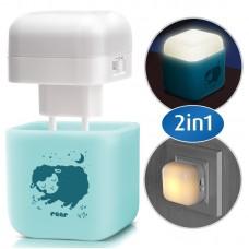 Reer Sleep Light Night light, azure