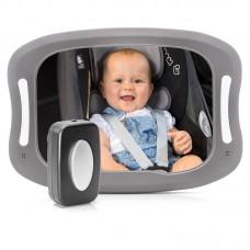 Reer Огледало за автомобил BabyView LED