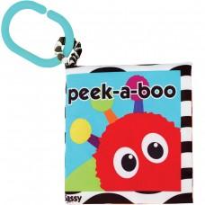 Sassy Soft Book Peek a boo