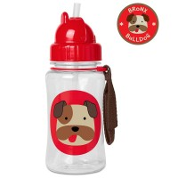 Skip * Hop Straw bottle Zoo, Bulldog