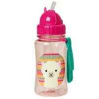 Skip * Hop Straw bottle Zoo Lama