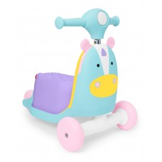 Skip Hop Zoo 3 In 1 Ride On Toy Unicorn