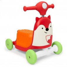 Skip Hop Zoo 3 In 1 Ride On Toy Foxy