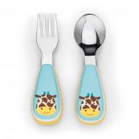 Skip * Hop Fork & Spoon Zoo Giraffe