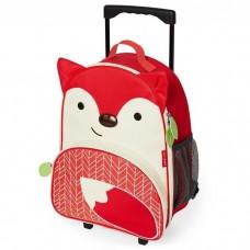 Skip Hop Zoo Little Kid Luggage, Fox