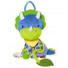 Skip * Hop Мека играчка с чесалка за зъбки Динозавърче