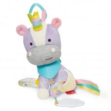 Skip * Hop Мека играчка с чесалка за зъбки Еднорог