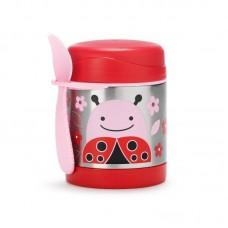 Skip * Hop Zoo Insulated Little Kid Food Jar, Ladybug