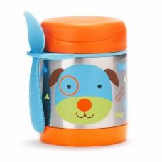 Skip * Hop Zoo Insulated Little Kid Food Jar, Dog